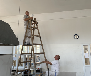 Реновирање на кујната во Јан Амос Коменски