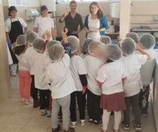 """Едукативна игра со дечињата од """"International Preschool of Skopje """""""